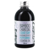 Biobodi Bamboo Charcoal Liquid Soap - Peppermint