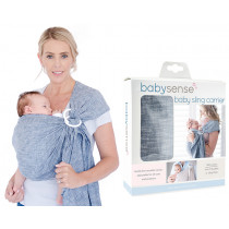 Baby Sense Ring Sling - Denim