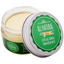 All Natural Deodorant Citrus Bliss