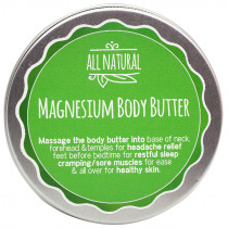 All Natural Magnesium Body Butter