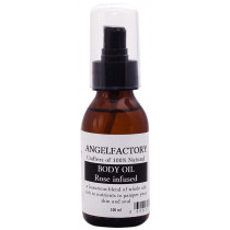 Angel Factory Body Oil - Rosewater