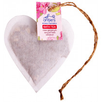 Antjies Rose Geranium Bath Tea Heart
