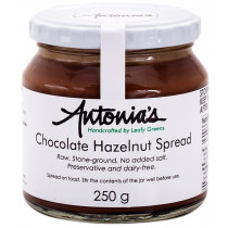 Antonia's Raw Stoneground Chocolate Hazelnut Spread
