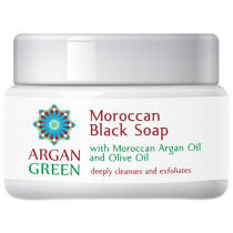 Argan Green Moroccan Black Soap