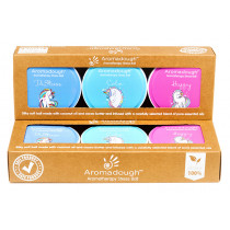Aromadough Stress Ball - Unicorn - 3 Pack
