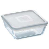 Pyrex Cook & Freeze Square Bowl with Lid