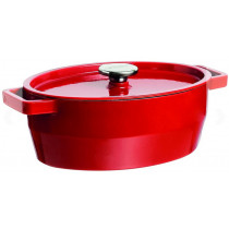 Pyrex Slow Cook Oval Red Casserole