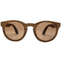 Ballo Eyewear Owl Imbuia Sunglasses - Polarized Brown