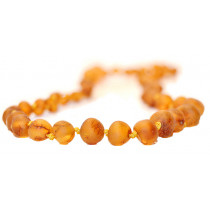 Baltic Amber for Africa Matte Cognac Teething Necklace