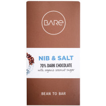 BARE Chocolate - Nib & Salt