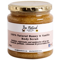 Bee Natural Vanilla & Honey Body Scrub