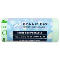 Bonnie Bio Compostable Pedal Bin Bags - 11 & 12 Litre