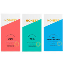 Honest Chocolate 70% Dark Chocolate Bundle