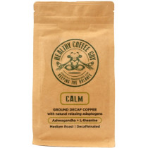 Healthy Coffee Guy Calm Ground Decaf Coffee