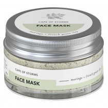 Cape of Storms Face Mask - Moringa & French Green Clay