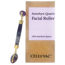 Celluvac Amethyst Crystal Facial Roller