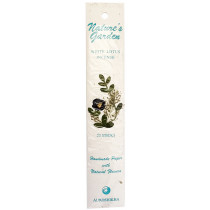 Nature's Garden White Lotus Incense
