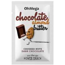 Oh Mega Chocolate Almond Butter 10g Power Snack