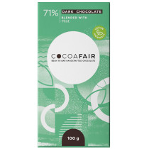 CocoaFair 65% Dark Chocolate with Mint
