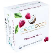 CocoBaci 15 Day Oil Pulling Program - Raspberry Kisses
