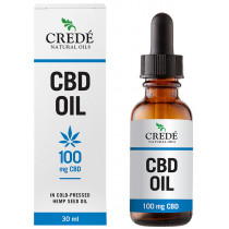 Credé CBD in Cold-Pressed Hemp Seed Oil