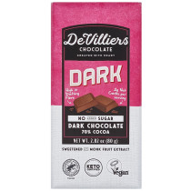 De Villiers No-Added-Sugar 70% Dark Chocolate