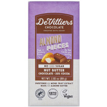 De Villiers No-Added-Sugar Almond Nut Butter Chocolate