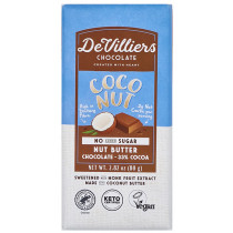 De Villiers No-Added-Sugar Coconut Nut Butter Chocolate