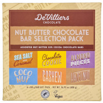 De Villiers Nut Butter Chocolate Bar Selection Box