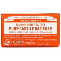 Dr. Bronner's Pure Castile Soap Bar - Tea Tree