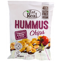 Eat Real Hummus Chips -Tomato & Basil
