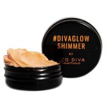 Eco Diva #DIVAGLOWSHIMMER 100% Natural Lip, Eye & Cheek Shimmer