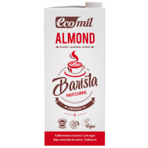 Ecomil Organic Barista Almond Milk Low Sugar