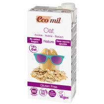 Ecomil Organic Oat Drink No Added Sugar - Gluten Free