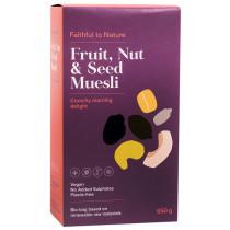 Faithful to Nature Fruit, Nut and Seed Muesli