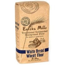Eureka Unbleached Stone Ground White Bread Flour