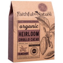 Faithful to Nature Organic Heirloom Criollo Cacao