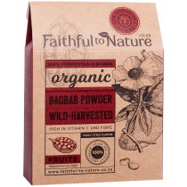 Faithful to Nature Organic Wild-Harvested Baobab
