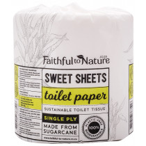 Faithful to Nature Sweet Sheets Single Ply