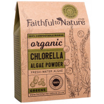 Faithful to Nature Organic Chlorella Powder