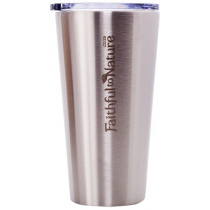 Faithful to Nature Stainless Steel Insulated Coffee Cup