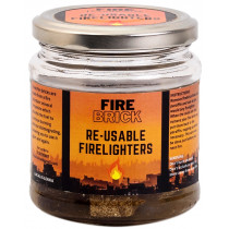 Fire Brick Re-Usable Firelighters
