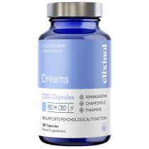 Elixinol CBD Capsules - Dreams