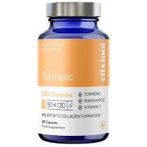Elixinol CBD Capsules - Tumeric