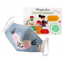Hemporium Kids Face Mask - Kitty