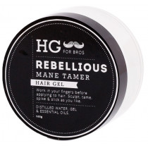 Hey Gorgeous HG for Bros Rebellious Mane Tamer Hair Gel