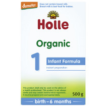 Holle Organic Infant Formula: Stage 1