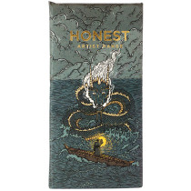 Honest Chocolate Slab 70% with Miso & Tamari Roasted Sunflower Seeds - Artist Range