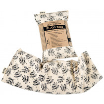 FLAXi Bag Natural Heat Therapy - Charcoal Foliage