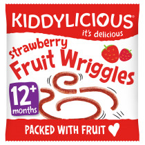 Kiddylicious Wriggles - Strawberry